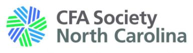 CFA Society NC
